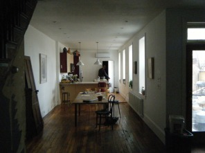 Kitchen / living room after