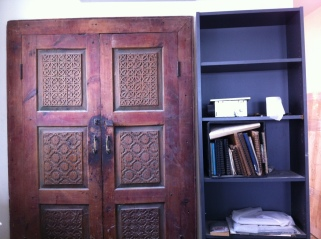 Reclaimed Doors - Closet Detail