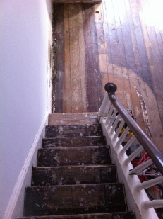 Main staircase before