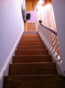 Main staircase after