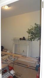 Fireplace surround modification