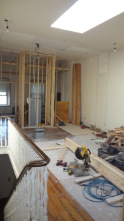 Third floor under renovation