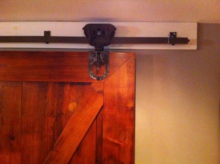 Custom Sliding Barn Door / Storage Closet