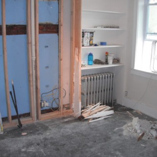 Demolition and new framing