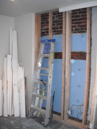 Demolition and new framing
