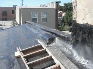 New roof - progress