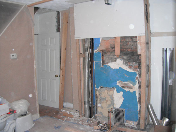 Bathroom demolition