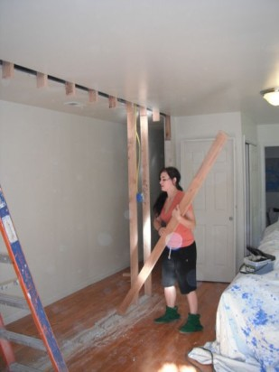 Framing a new wall