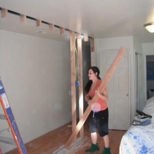 Framing a new wall