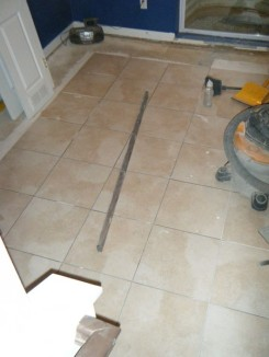 Patching tile