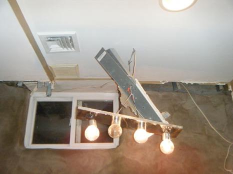 New ceiling progress
